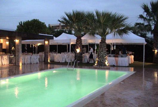 Image of swimming pool. Villa Pelagos